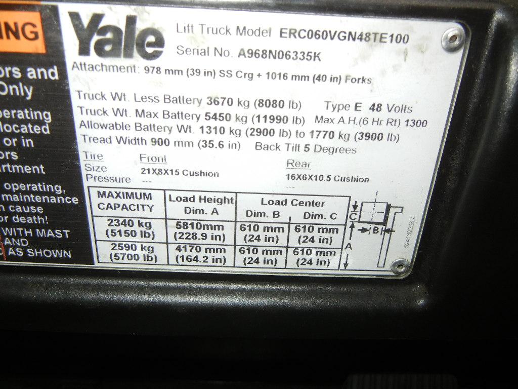 2012 Yale ERC060