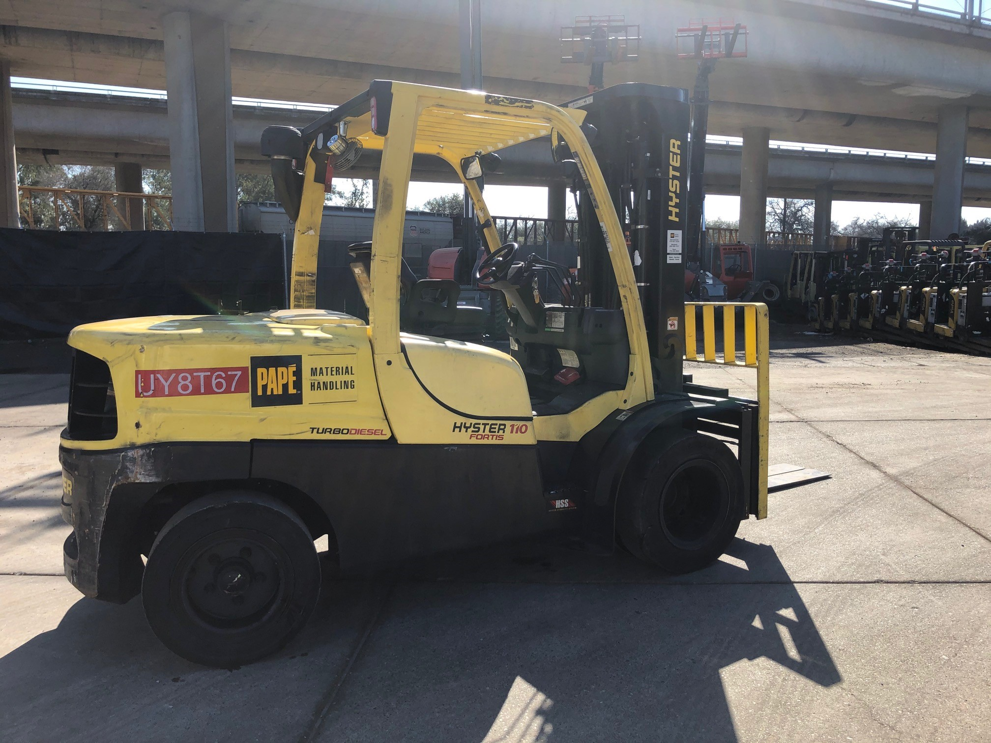 2015 Hyster H110FT