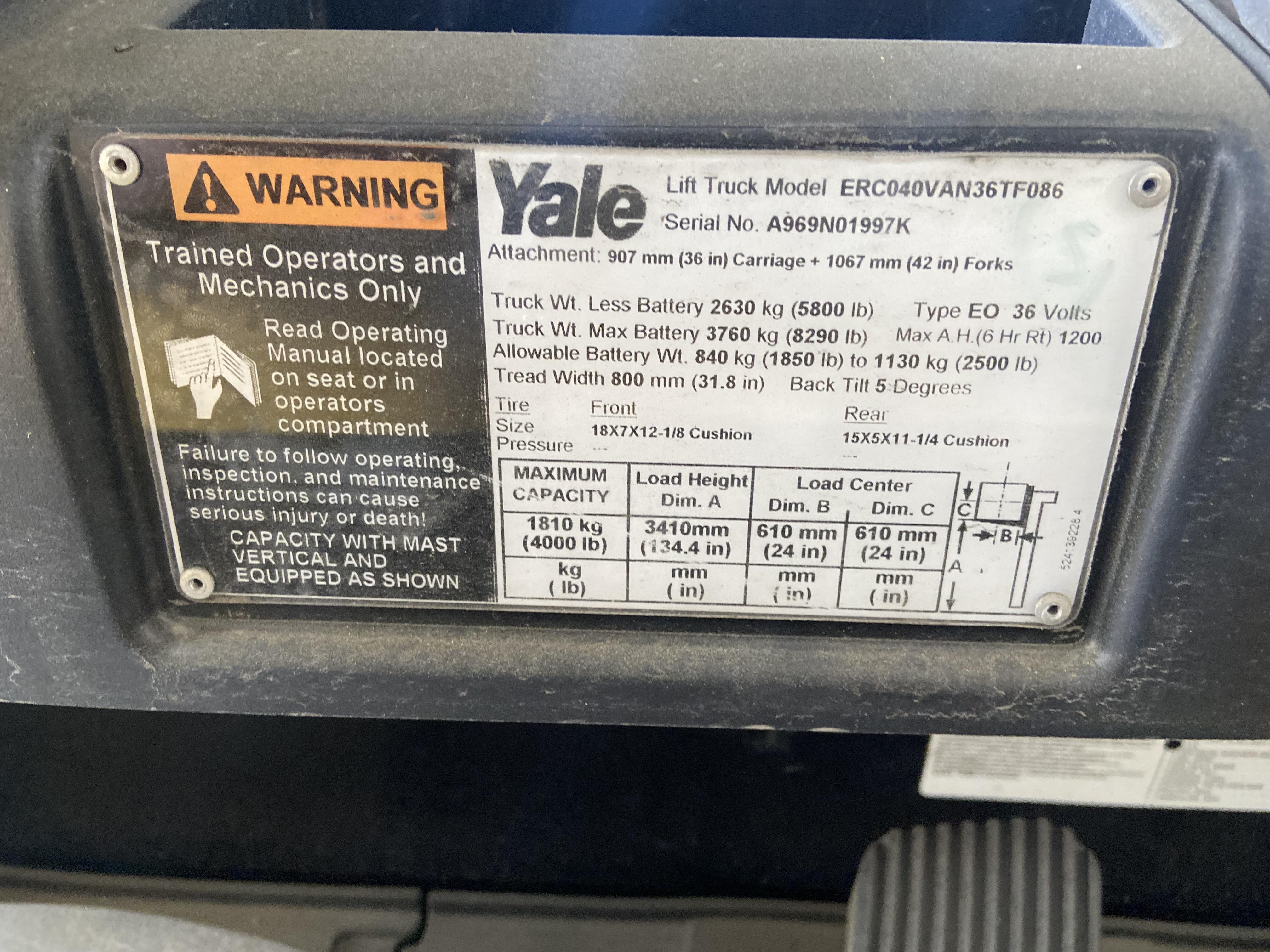 2012 Yale ERC040