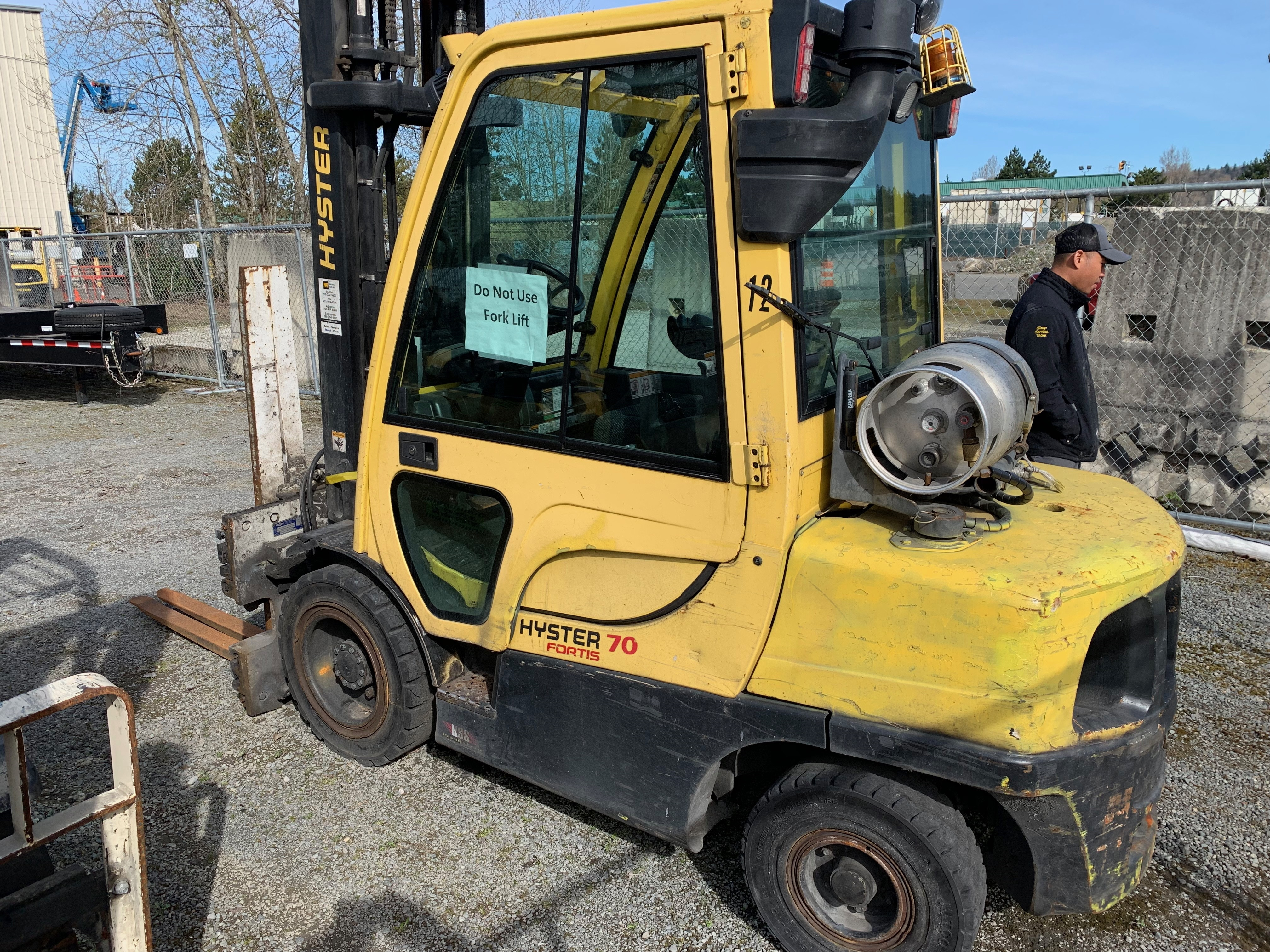 2012 Hyster H70FT