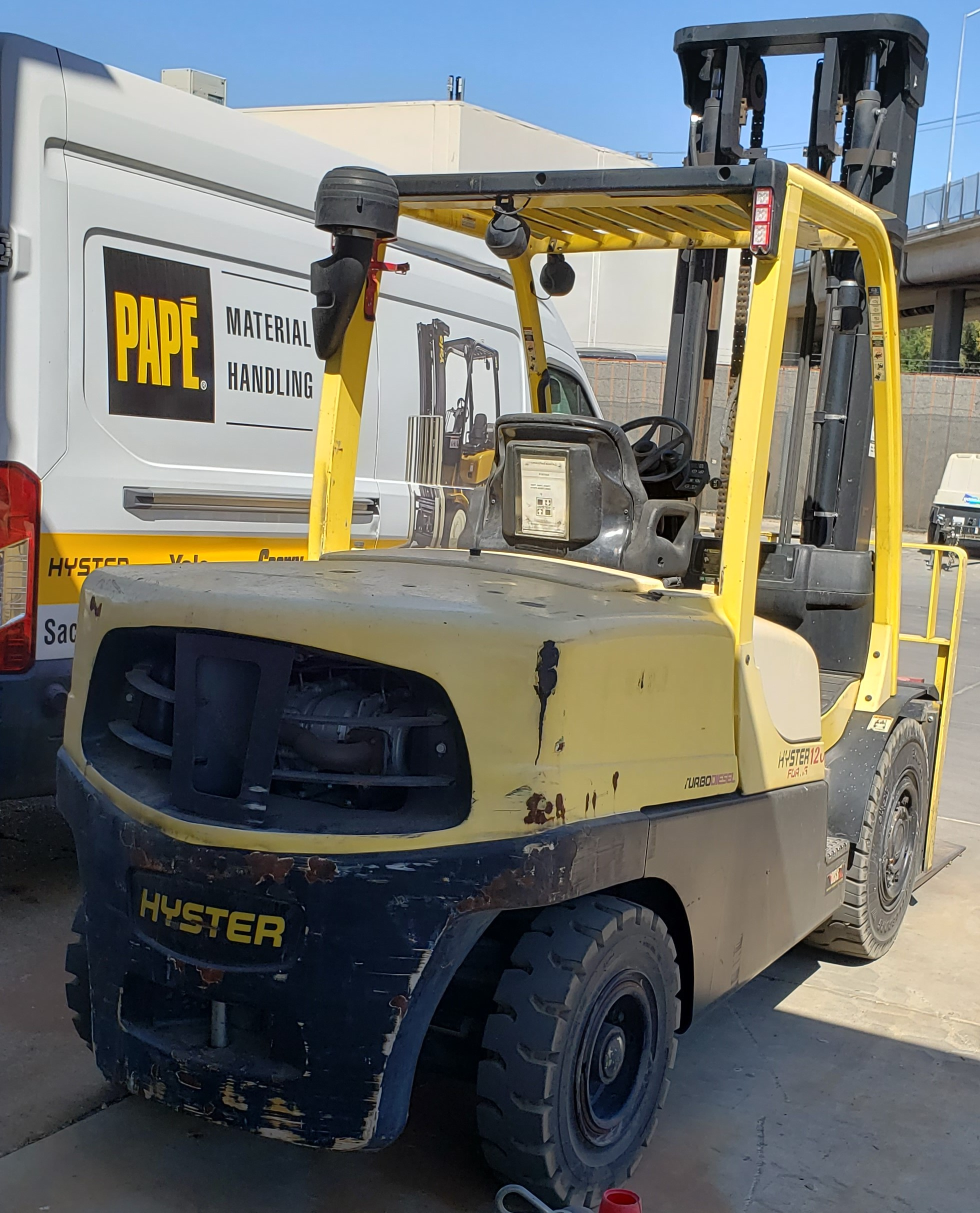 2014 Hyster H120FT