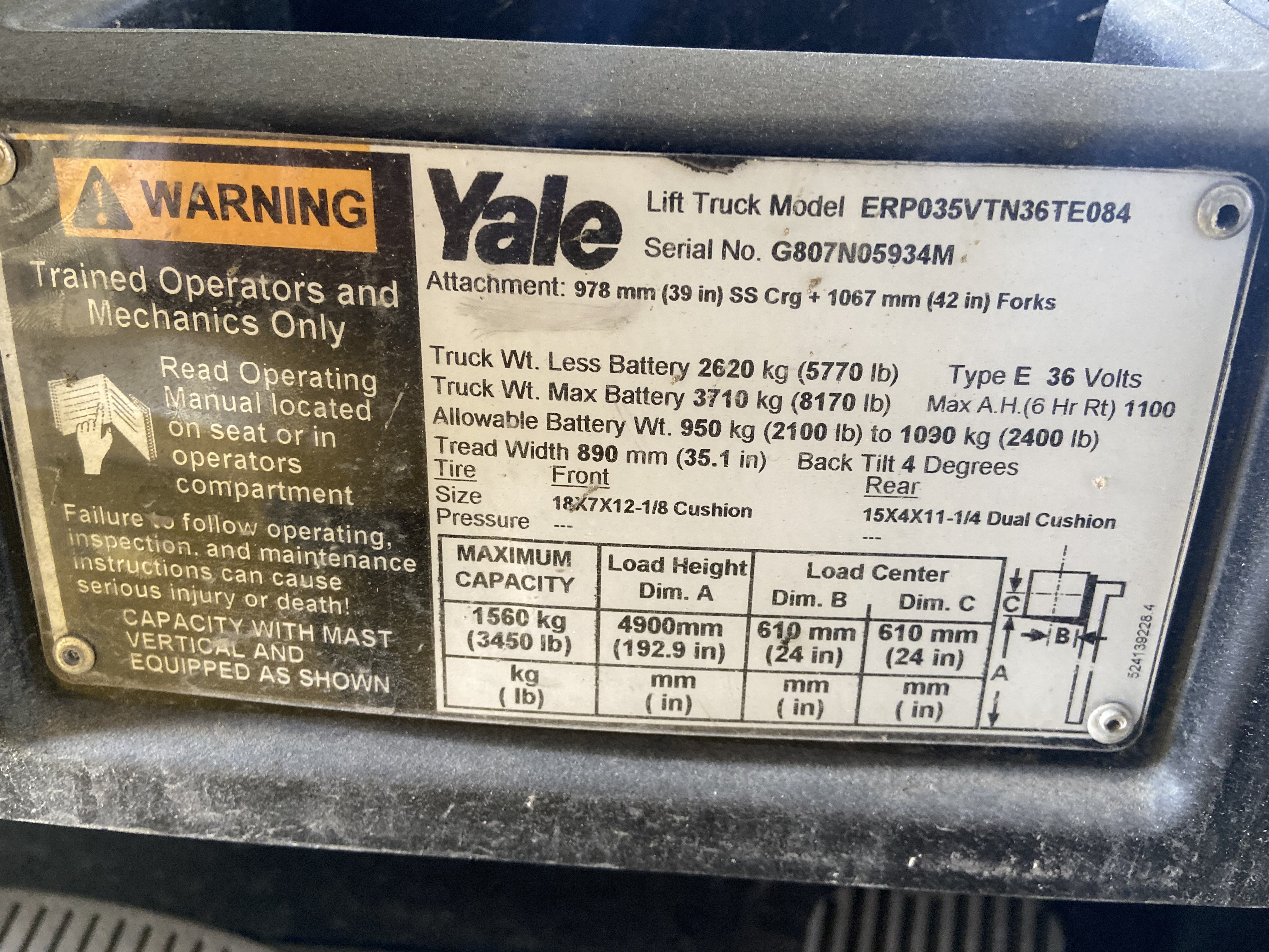 2014 Yale ERP035