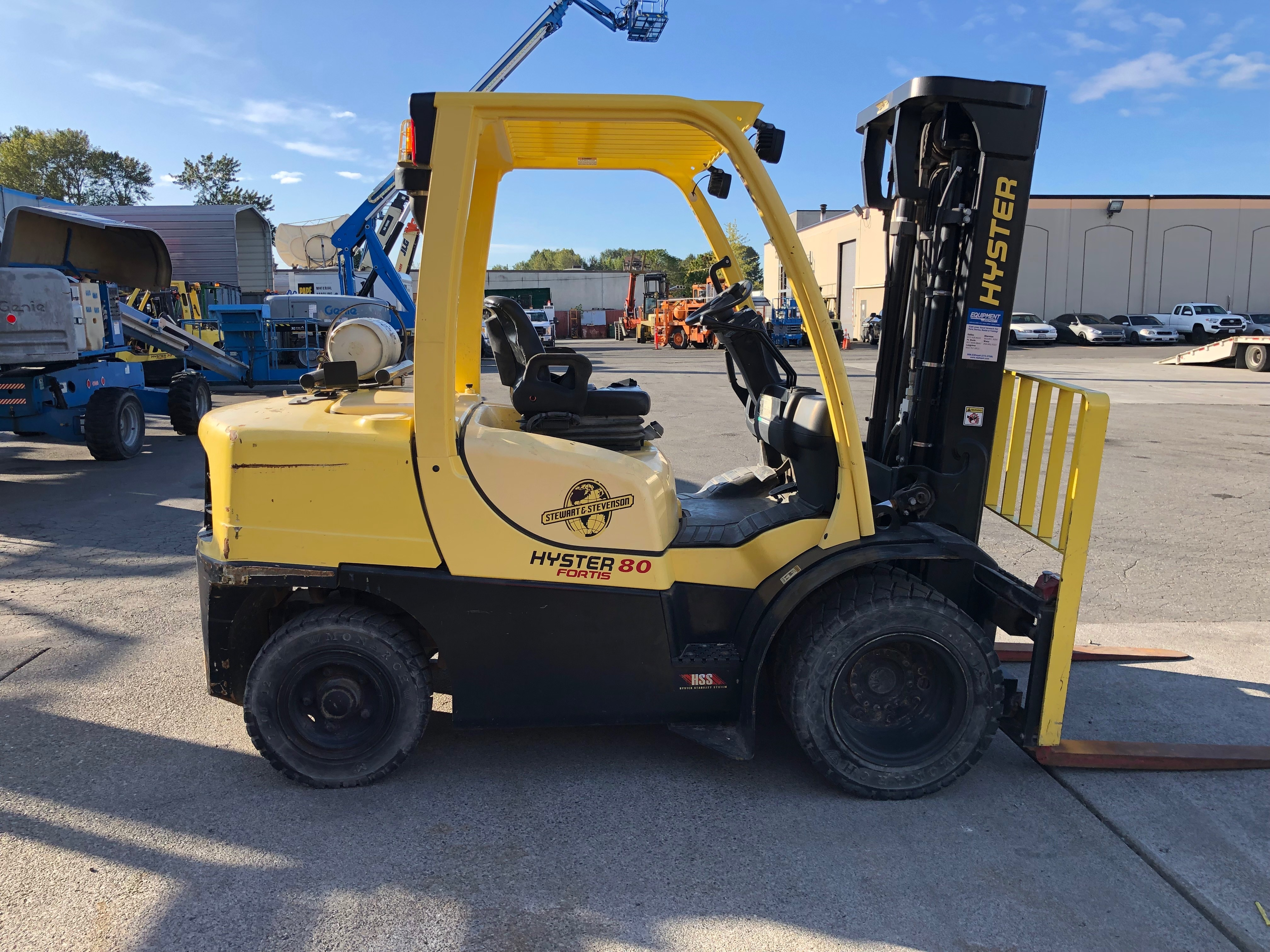 2014 Hyster H80FT