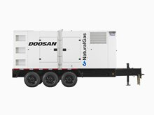 Doosan NG295 Natural Gas Generator