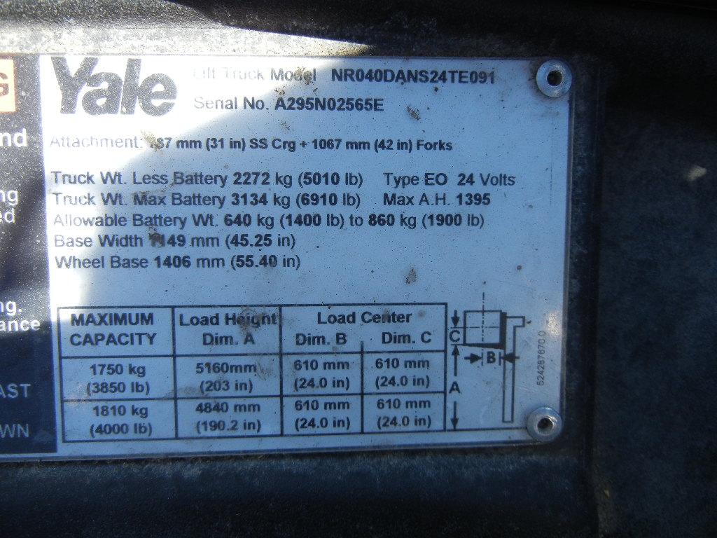2007 Yale NR040