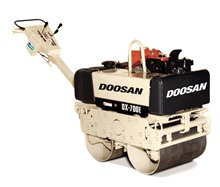 Doosan DX-500E Walk-Behind Vibratory Roller
