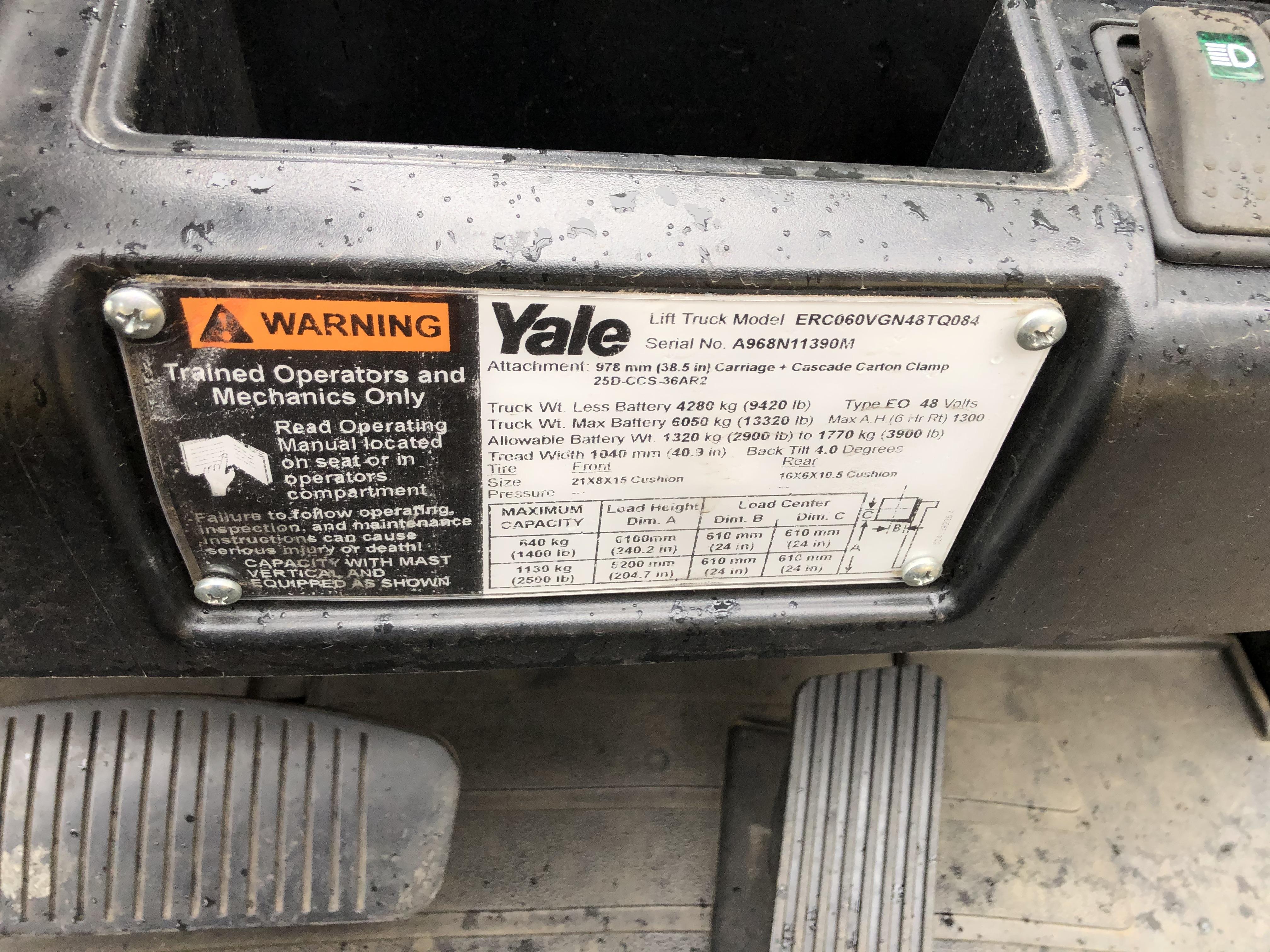 2014 Yale ERC060