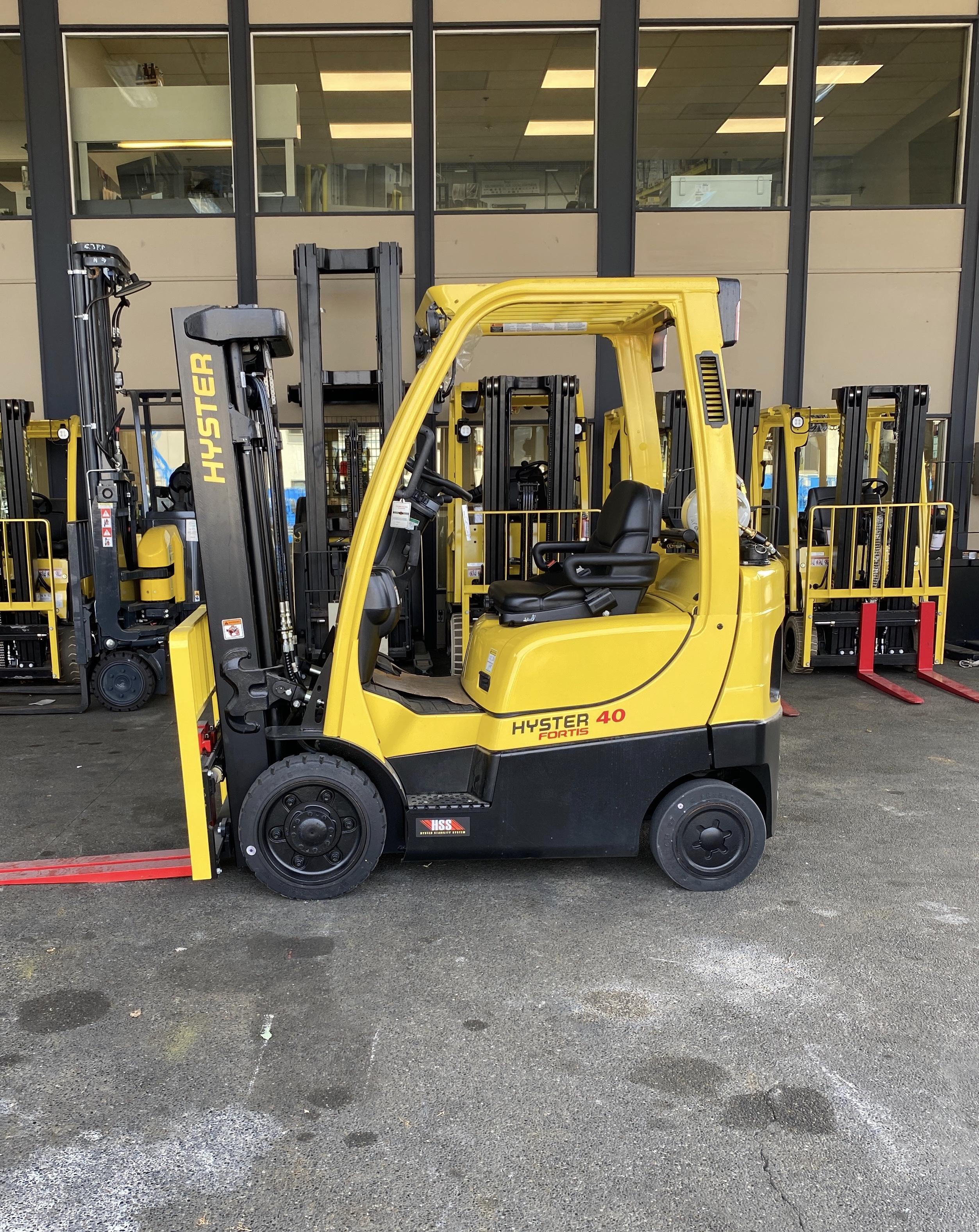 2018 Hyster S40FT