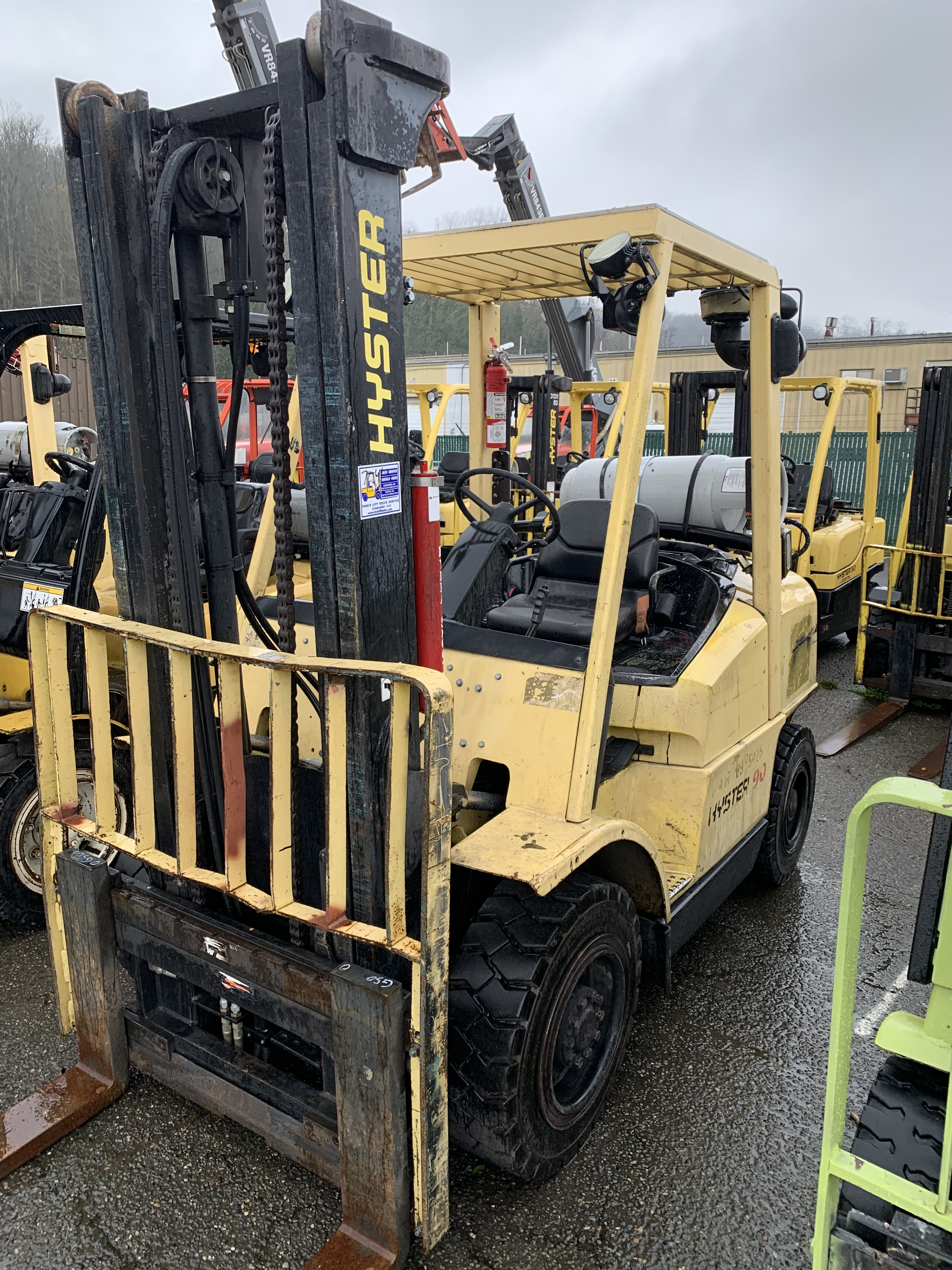 2005 Hyster H90XM