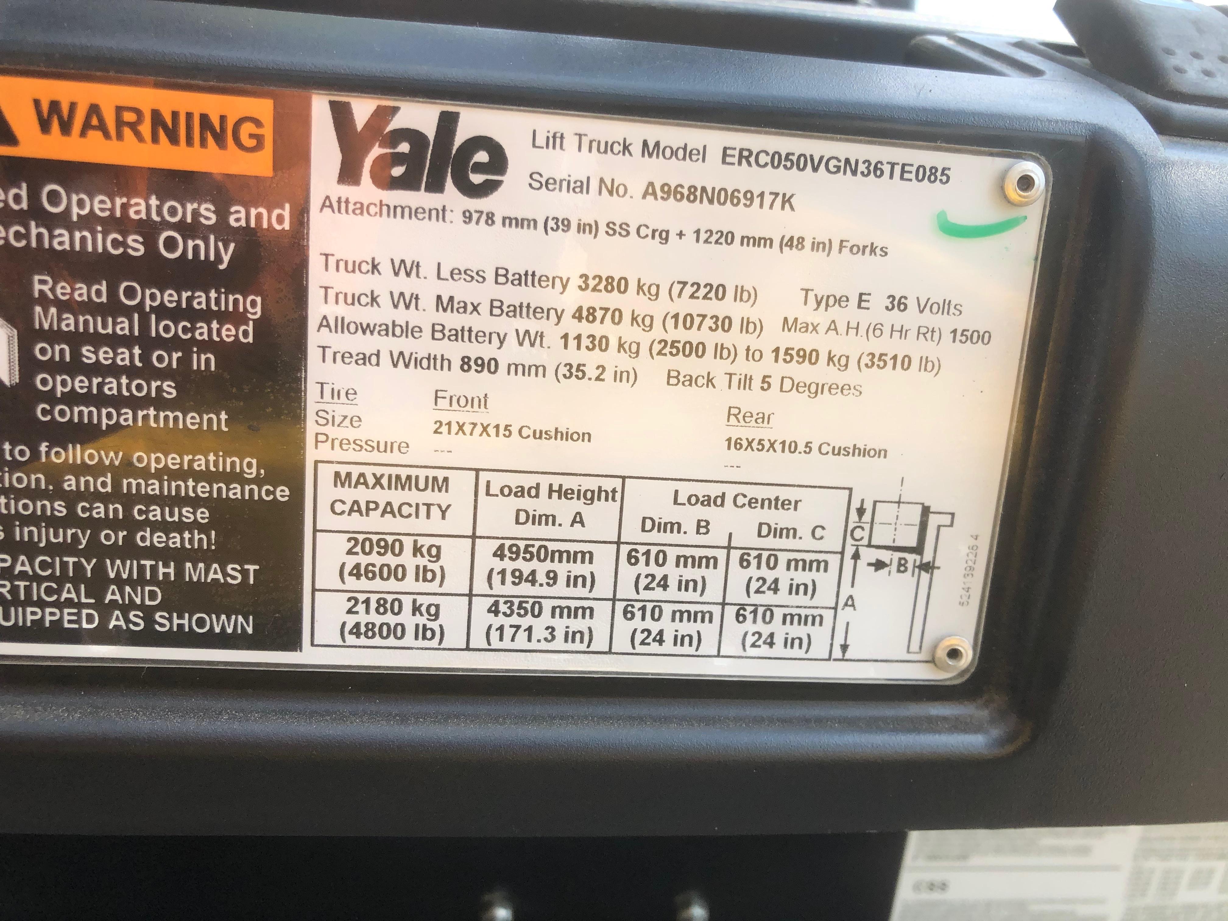 2012 Yale ERC050