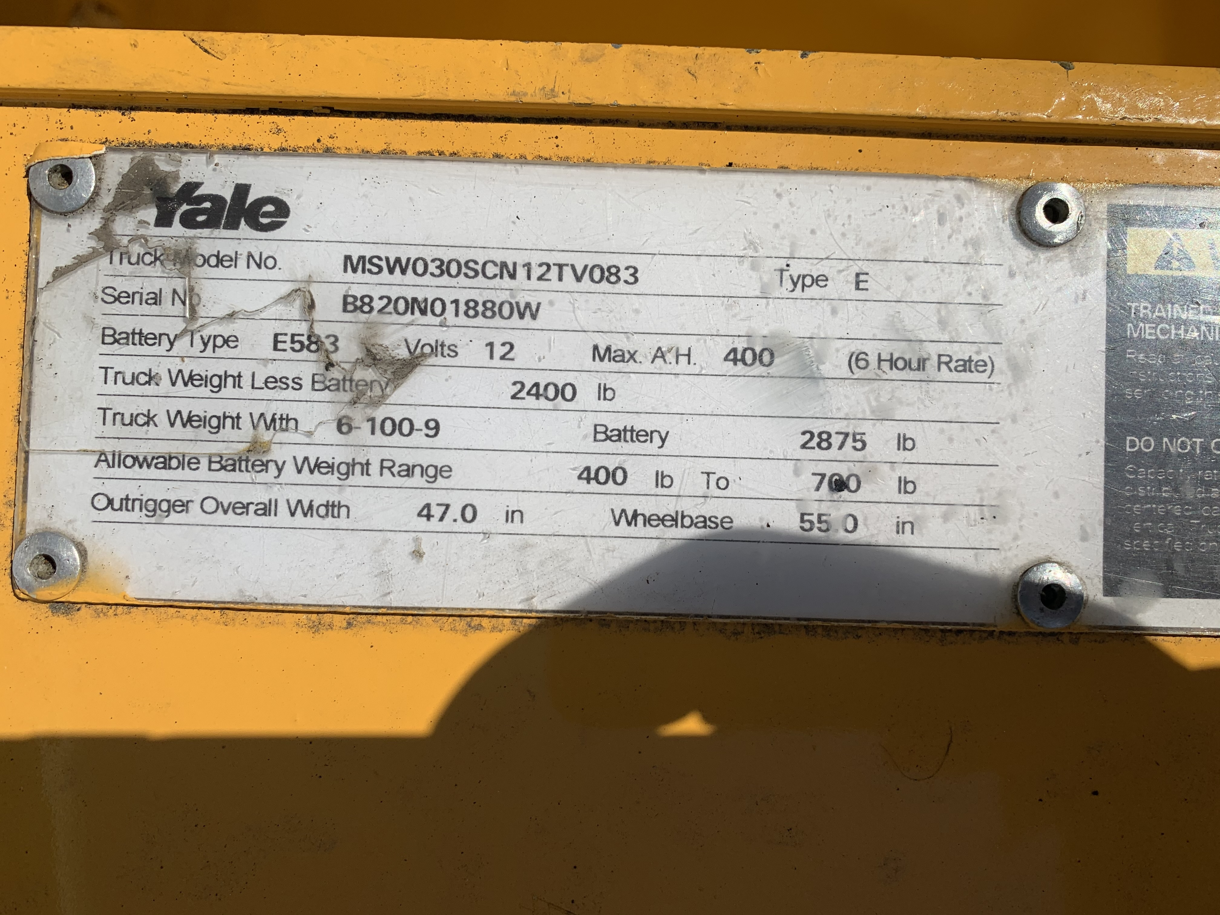 2000 Yale MSW030