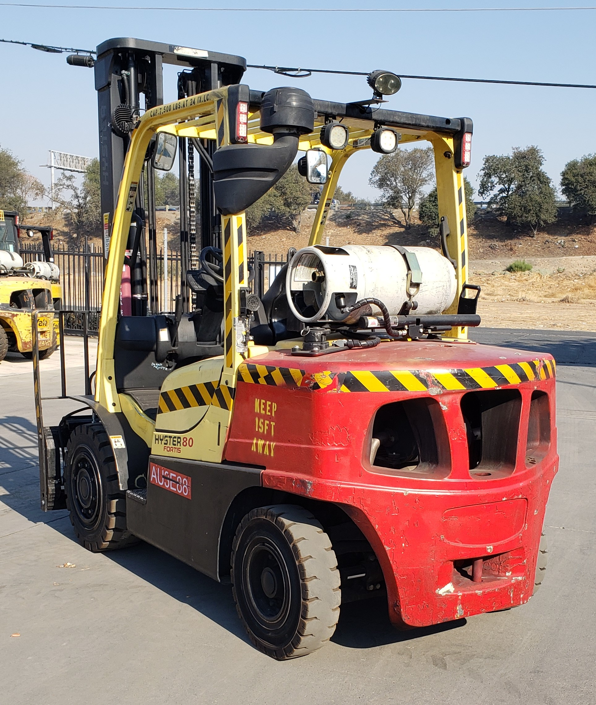 2012 Hyster H80FT